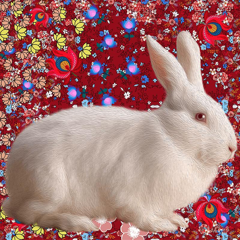 white.Rabbit NFT / Print Series
